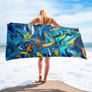 Koi Pond – Towel