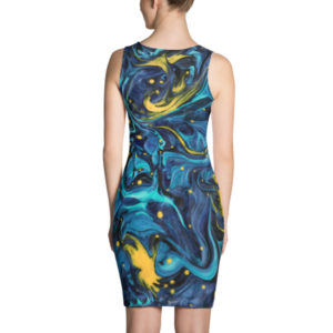 Channeling van Gogh – Dress