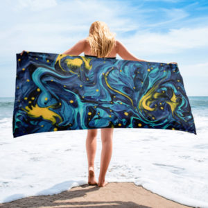 Channeling van Gogh – Towel